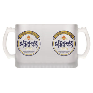 Taedonggang Beer Classic Frosted Beer Mug
