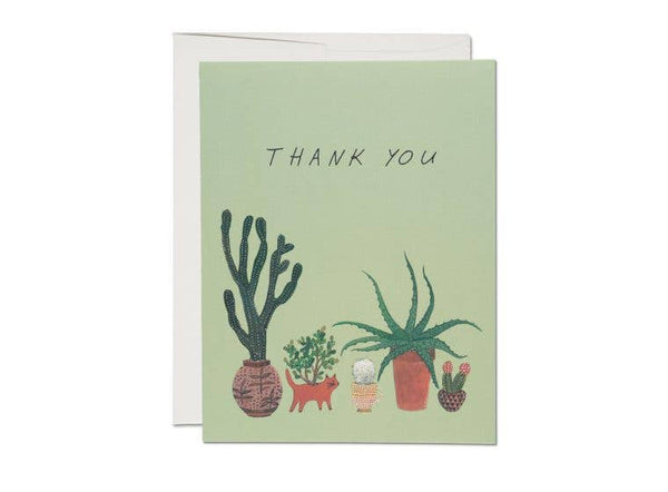 Cactus Thank You Card - Proper-Shops