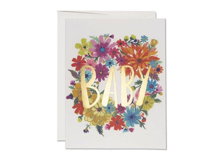 Baby Wreath Card - Proper-Shops