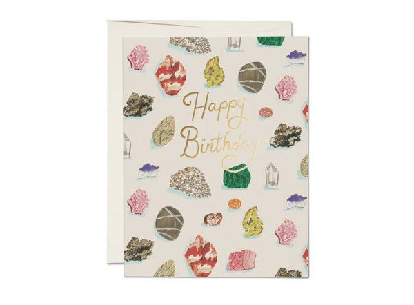 Birthday Gems Card - Proper-Shops