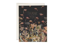 Floral Flamingo Card - Proper-Shops
