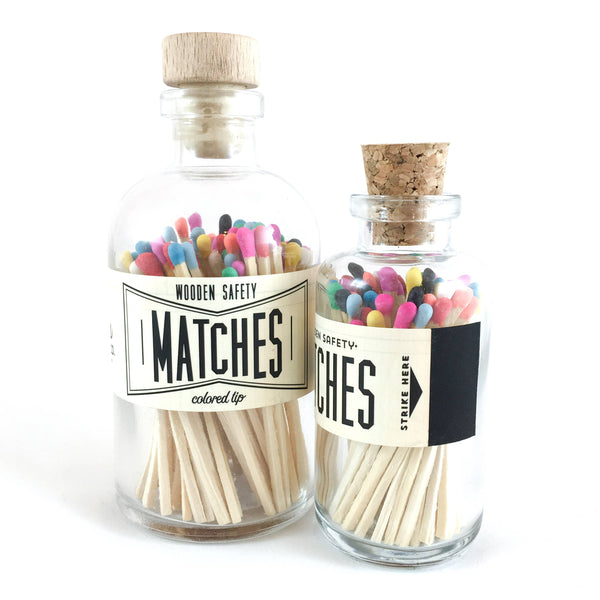 Multi Color Vintage Apothecary Matches - Proper