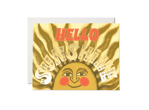 Hello Sunshine Card - Proper-Shops