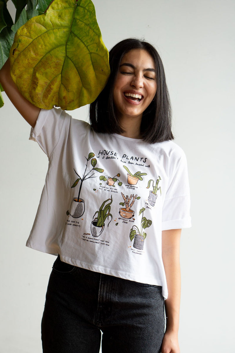 Unfortunate Plants Crop Tee - Proper-Shops