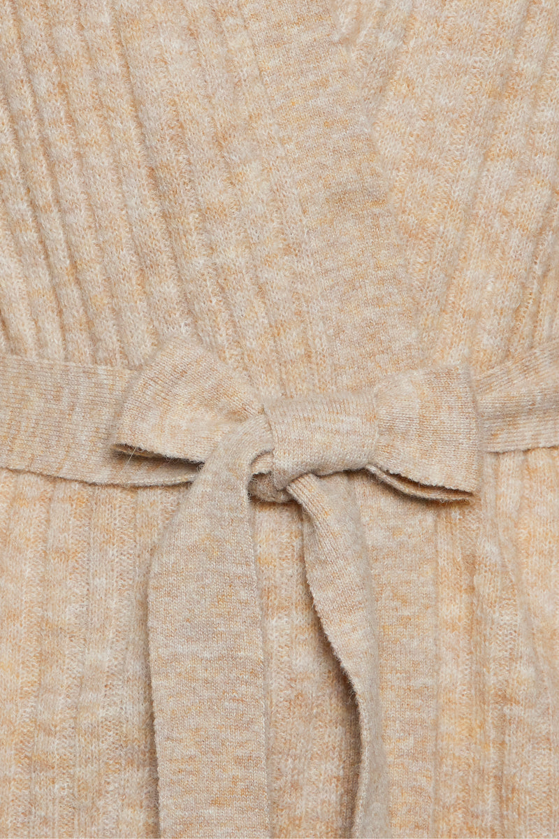 Amara Ribbed Wrap Sweater - Proper