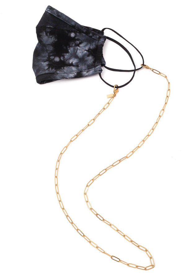 Ava Mask Chain Necklace - Proper-Shops
