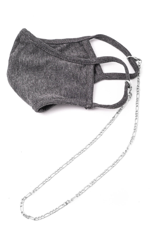 Brie Mask Chain Necklace - Proper-Shops