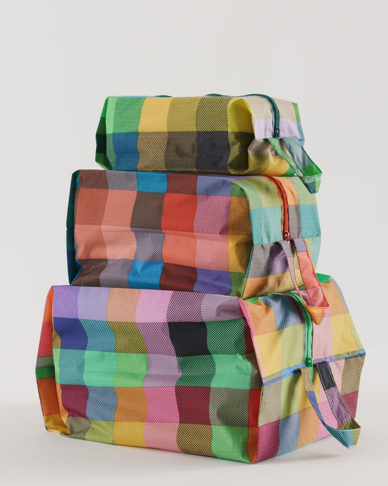3D Zip Set - Madras Mix - Proper