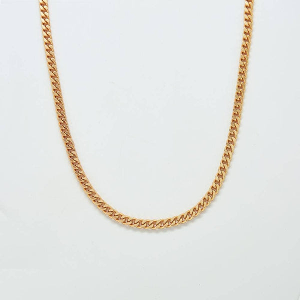 Curb Chain Link Necklace - Proper