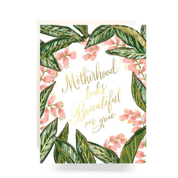 Ginger Bloom Motherhood Card - Proper-Shops