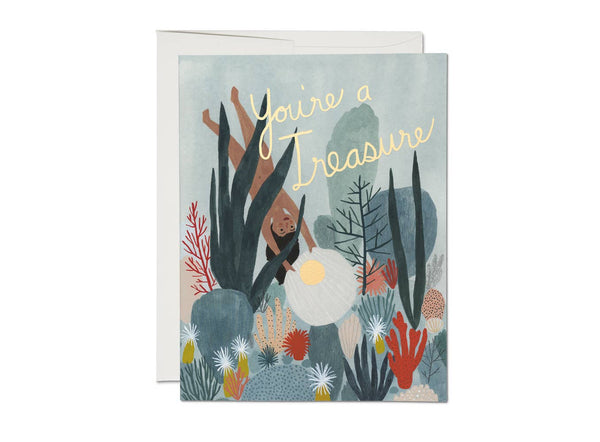 You're a Treasure Card - Proper-Shops