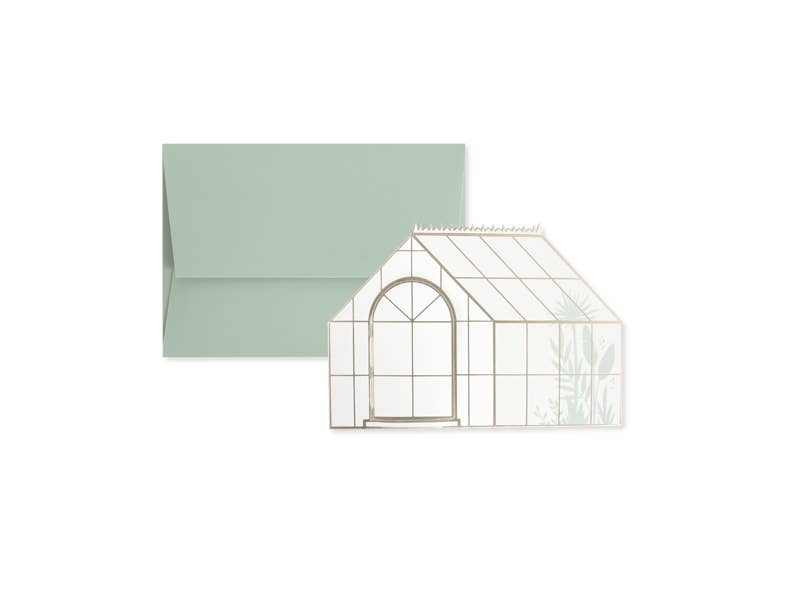 Greenery Pop-Up Card - Proper