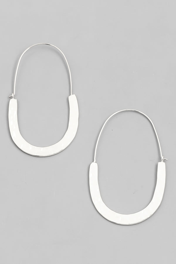 Hoop Drop Earring