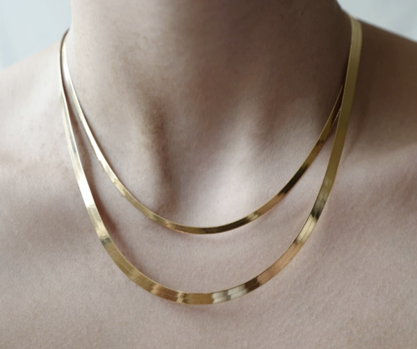 Herringbone Necklace - Proper-Shops