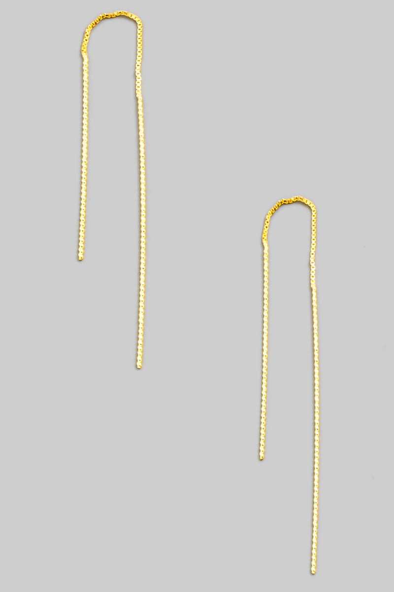 Dainty Threader Earring - Proper-Shops