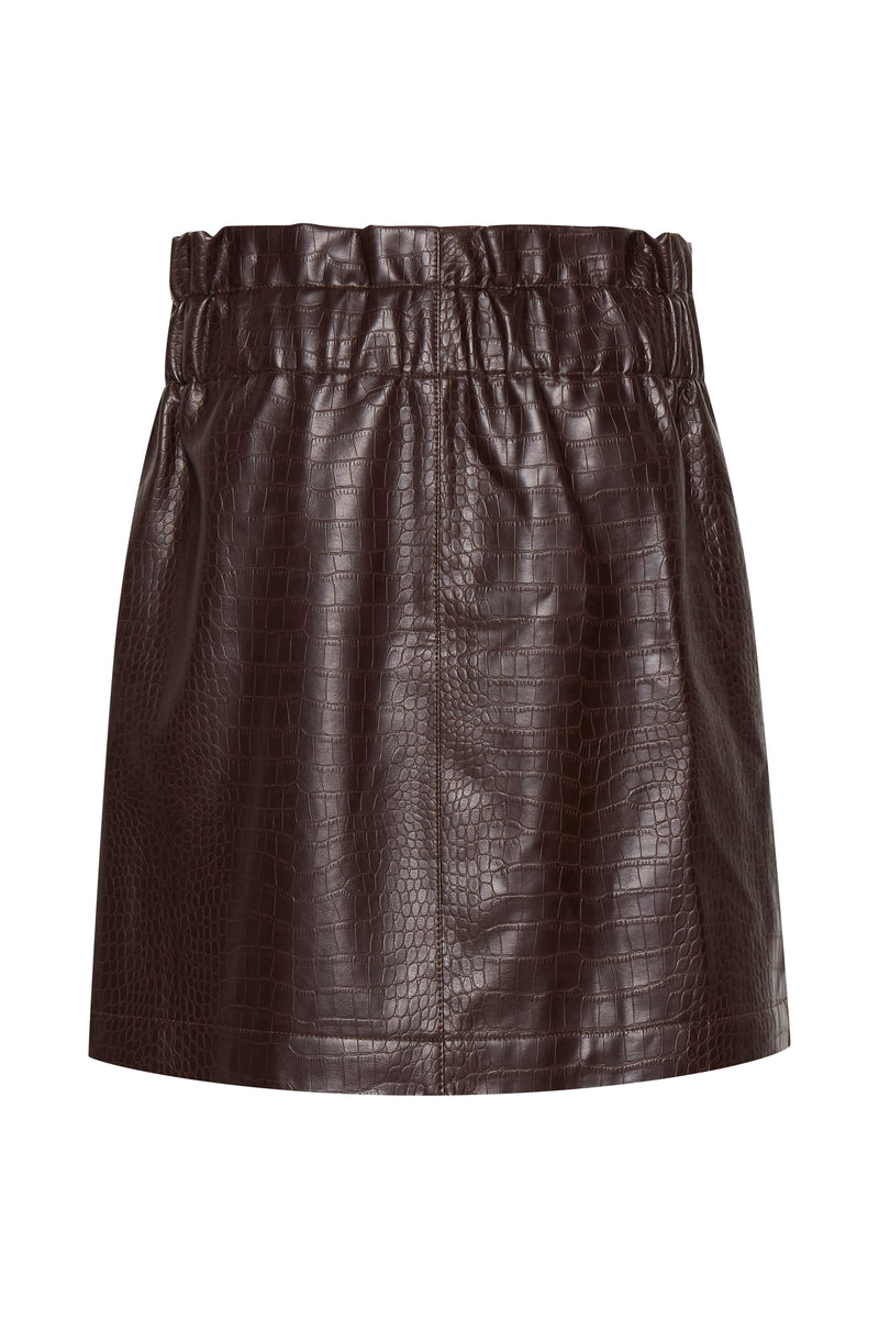 Croco Skirt - Proper-Shops
