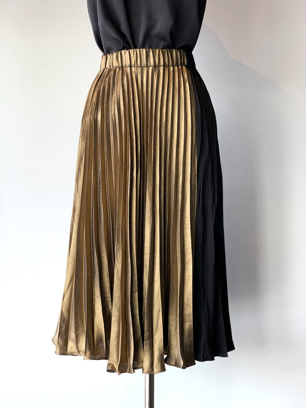 Black + Gold Skirt