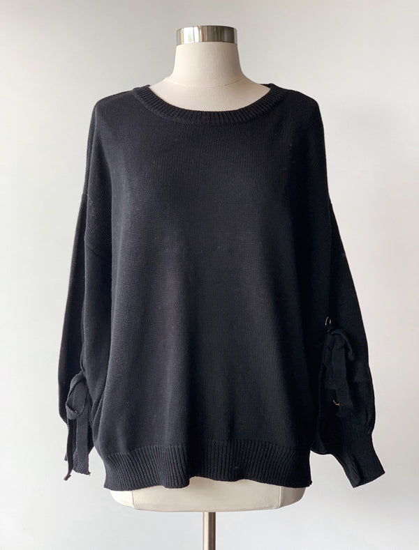 Puff Sleeve Sweater - Proper-Shops