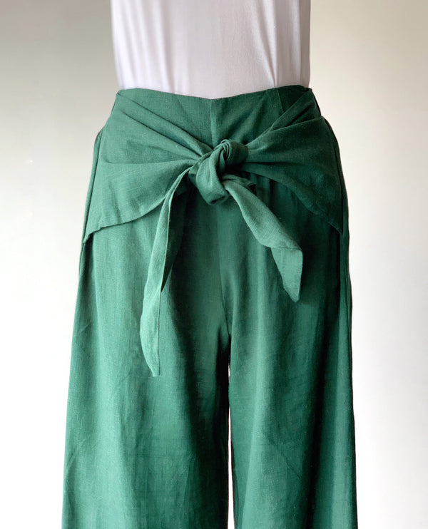 Forest Palazzo Pants - Proper-Shops