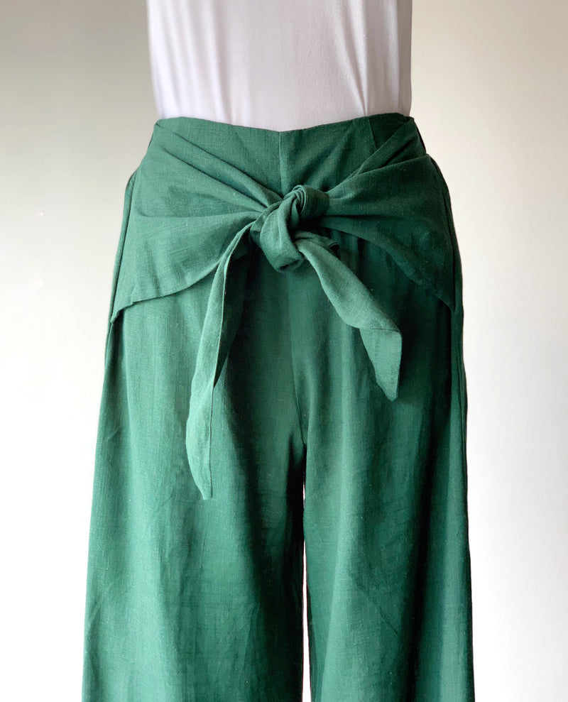 Forest Palazzo Pants