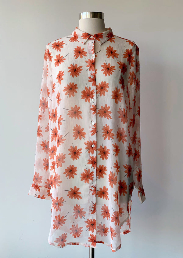 Sif Floral Tunic - Proper-Shops