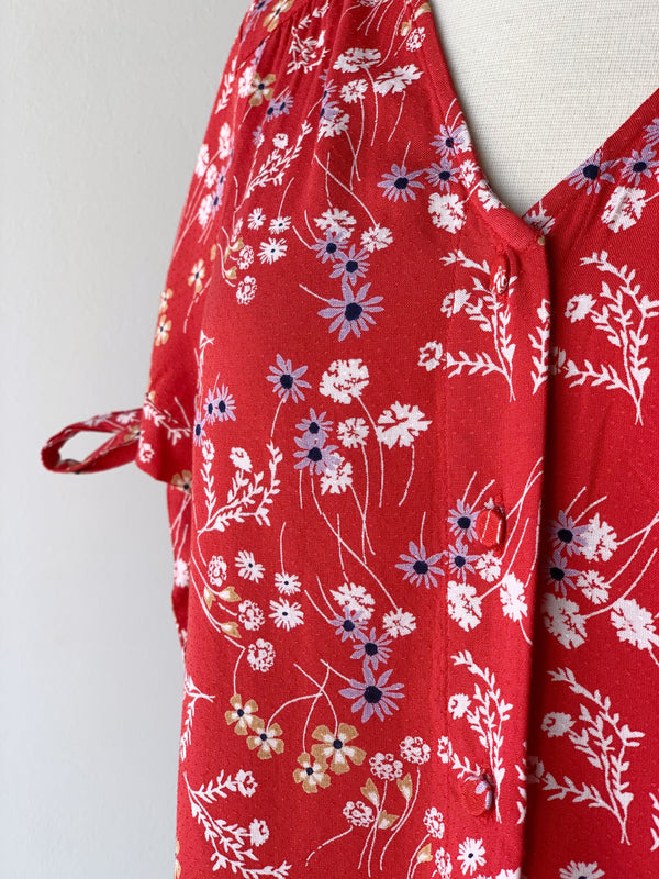 Lotus Red Shirt - Proper-Shops