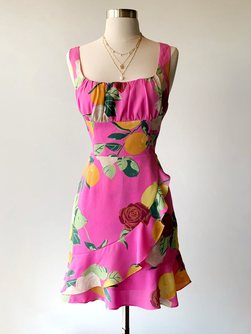 Citrus Pink Dress - Proper-Shops
