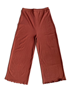 Brick Crop Knit Pants - Proper-Shops