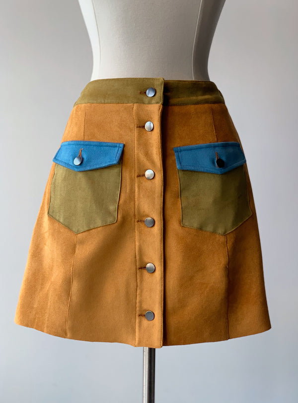 Ariella Colorblock Skirt