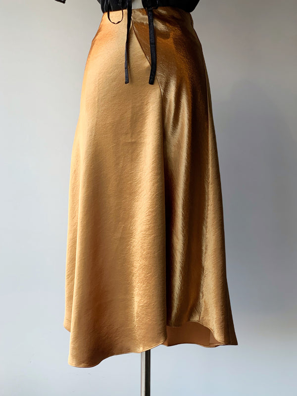 Astrid Golden Skirt