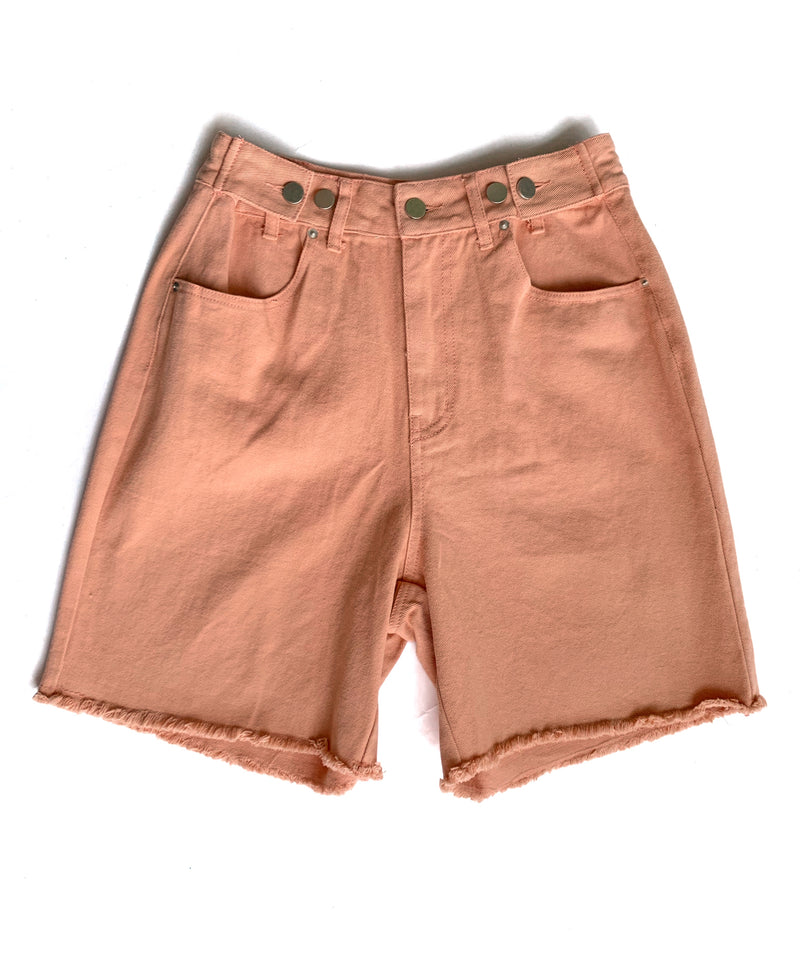 Peach Shorts - Proper-Shops