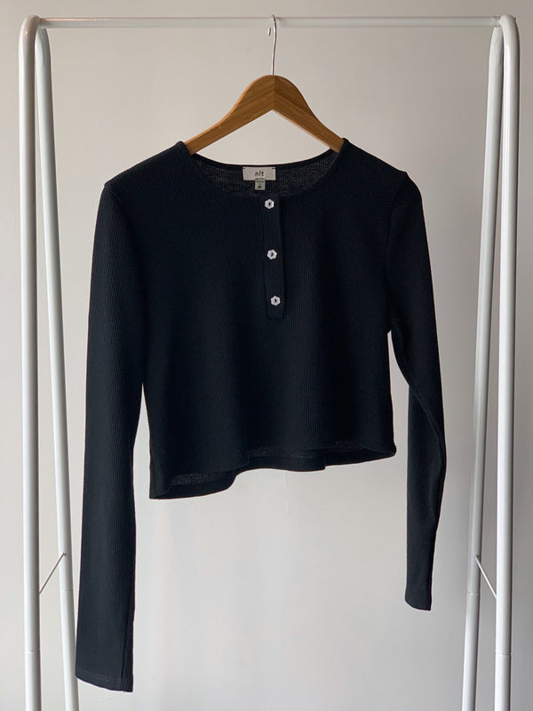 Jane Crop Thermal Top - Proper-Shops