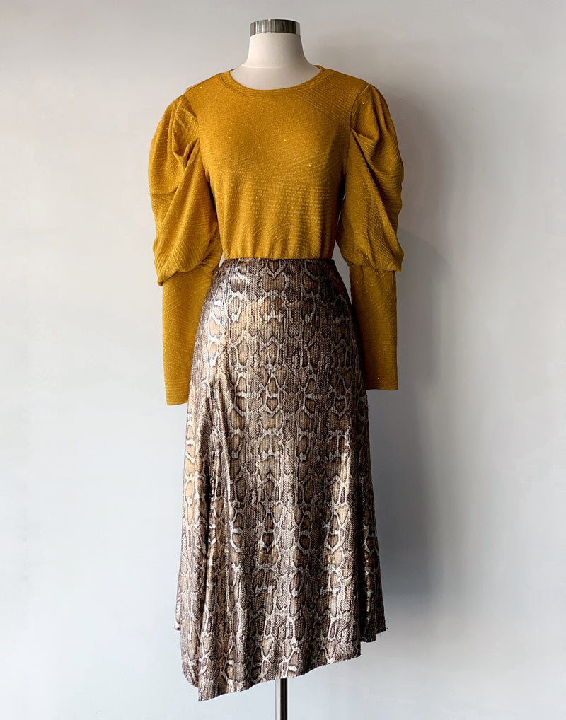 Brooke Sequin Skirt