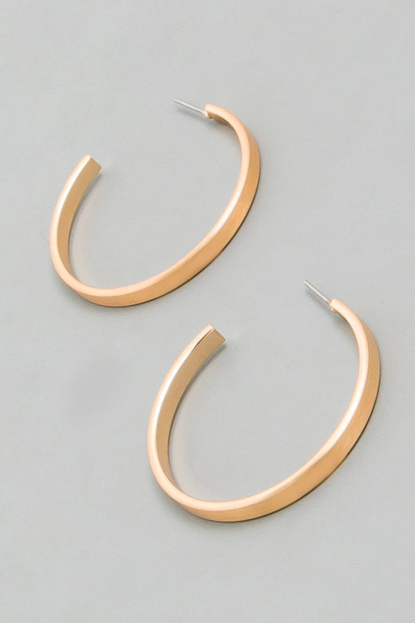 Lora Hoop Earrings