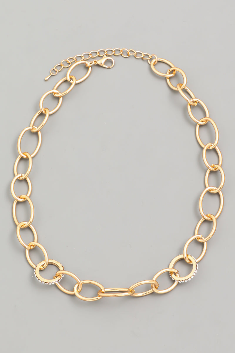 Lisa Cable Chain Necklace