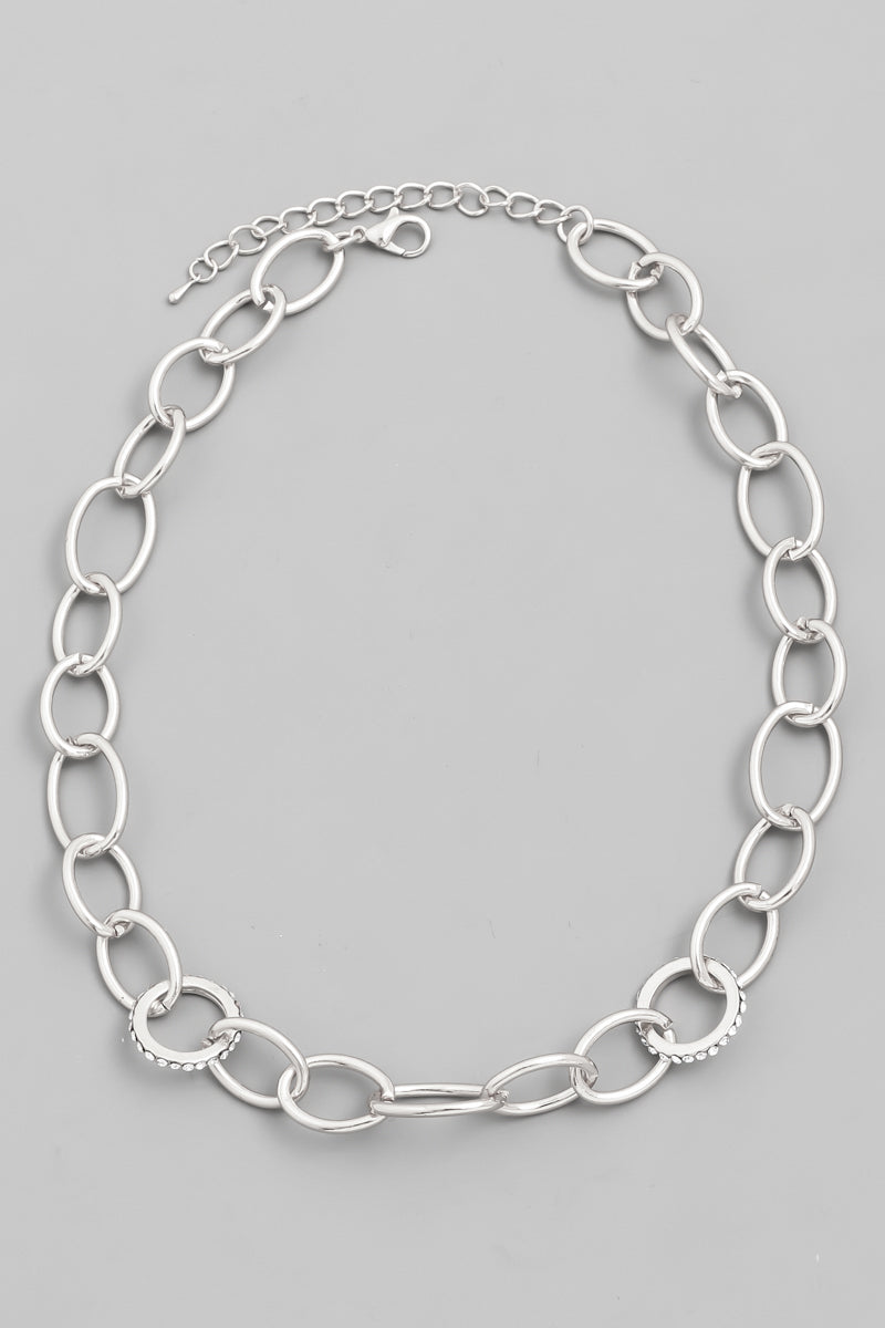 Lisa Cable Chain Necklace - Proper-Shops