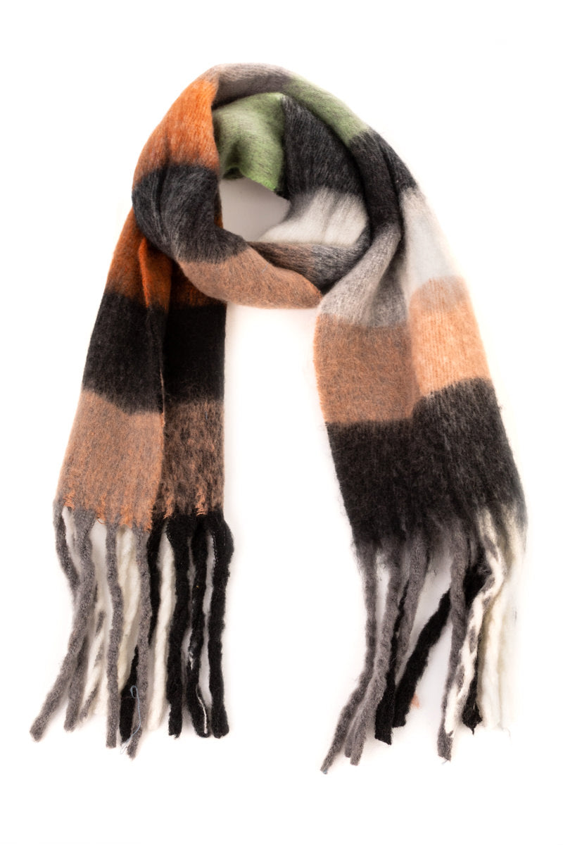Sallie Colorblock Scarf - Proper-Shops