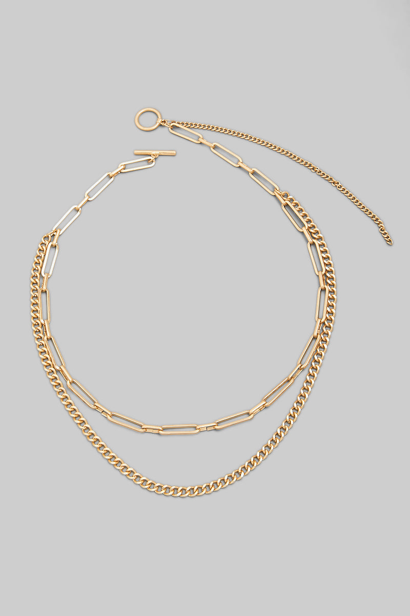 Willow Layered Necklace - Proper-Shops