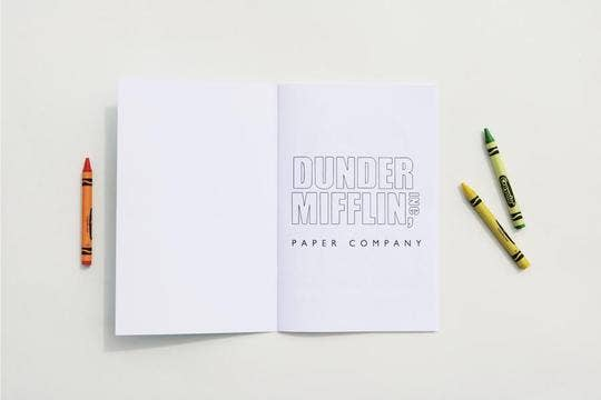 The Office Coloring Book - Proper-Shops
