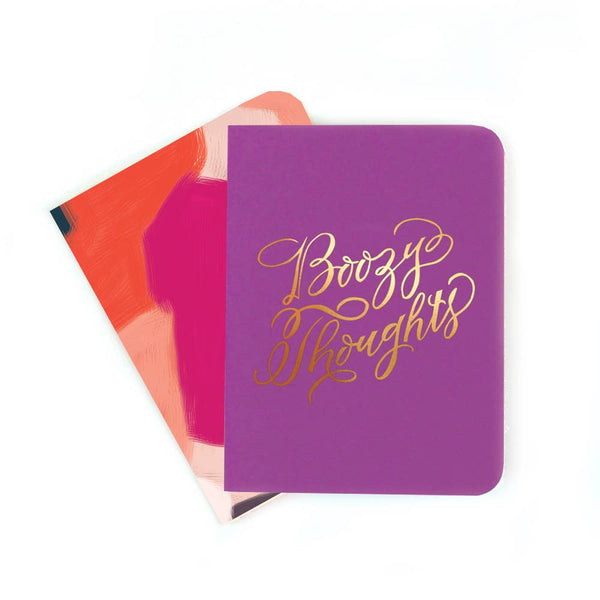 Boozy Thoughts Notebook Set - Proper-Shops