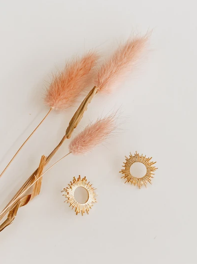 Sunburst Earrings - Proper
