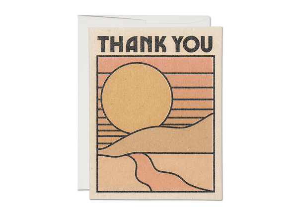 Thank You Sun Card - Proper-Shops