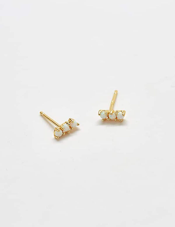 Opal Curve Earrings - Proper