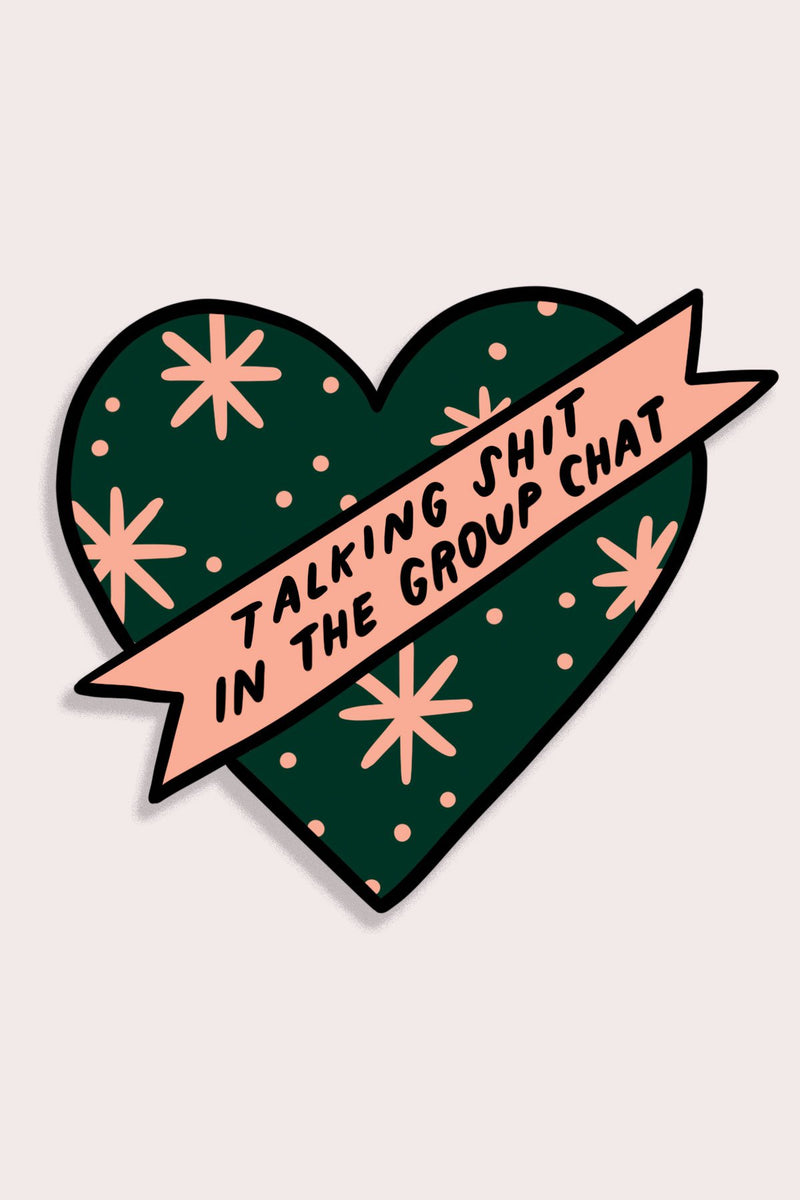 Group Chat Sticker - Proper