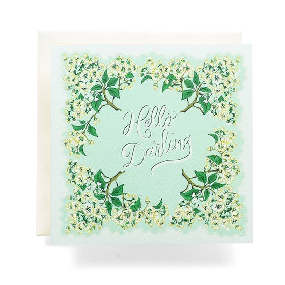 Handkerchief Darling Greeting Card - Proper-Shops