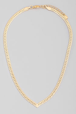 Olivia Herringbone Necklace - Proper