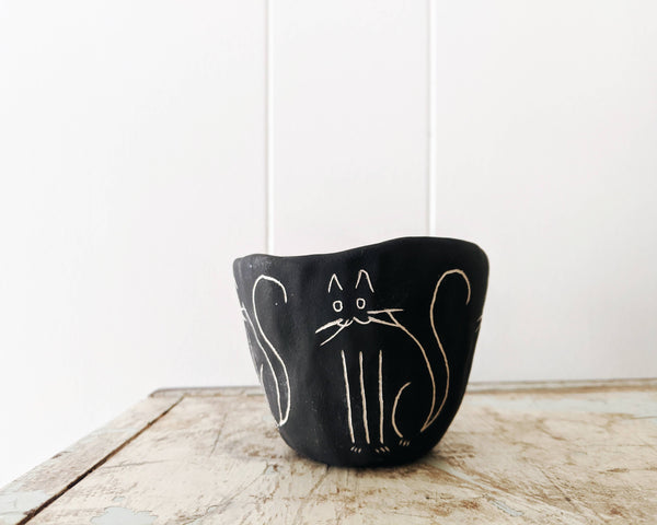 Kitty Mini Planter - Proper-Shops