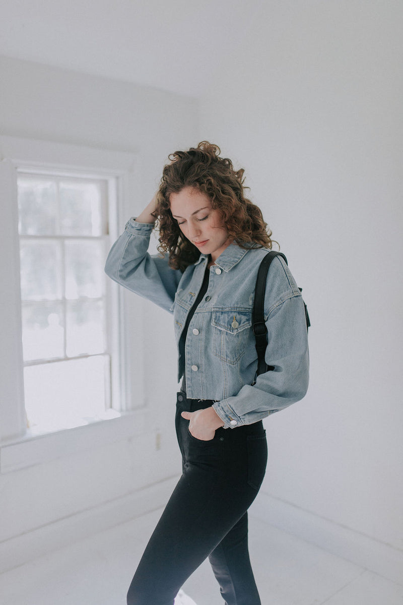 The Frances Denim Jacket - Proper-Shops