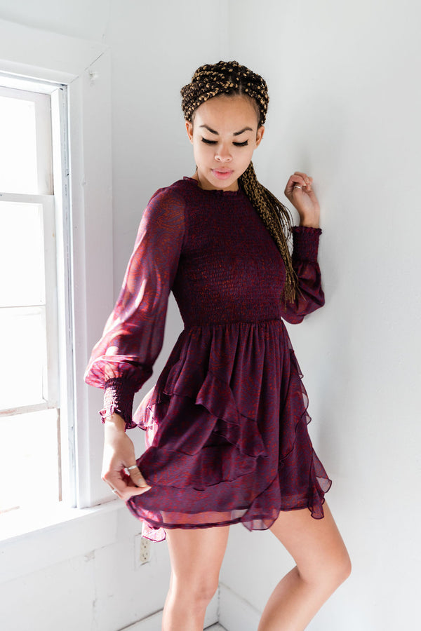 Nadia Mini Dress - Proper-Shops