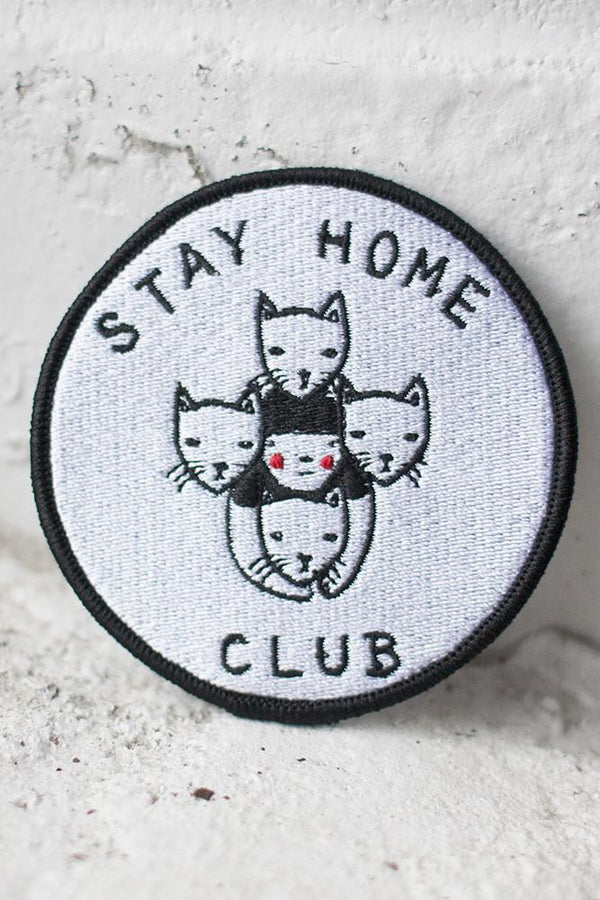 Stay Home Club Patch - Proper